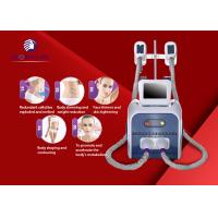 Buy cheap CRYO + CAVI + RF 3 In 1 Slim Freeze Fat Freeze Slimming Machine 1000w Output from wholesalers