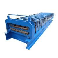 Color Corrugated Shape Roll Forming Machine Sheet Metal Roll Forming Machine Detail Manufactures