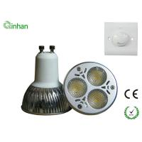 Cool White 240 LM 3W 45 / 60 degree dimmable LED Spotlight QH-GU10DS-1W3 Manufactures