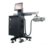 China Movable CNC Laser Marking Machine with Marking range 200 * 200mm on sale