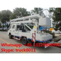 Quality factory sale best price forland 4*2 RHD 11m aerial bucket truck, hot sale forland 11m overhead working platform truck for sale