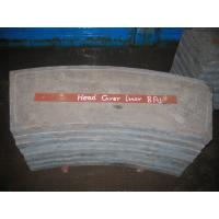 Cement High Cr White Metal Casting Supplies End Liners For Mill Manufactures