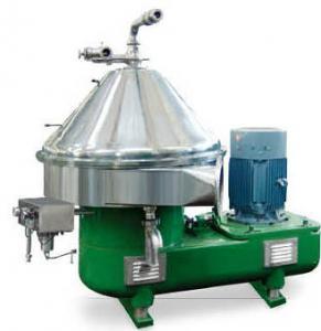 Special Design Milk Cream Centrifugal Separator Machine Used Beer Separator / Clarifier Manufactures