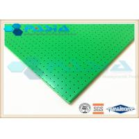 Sound Insulation Clean Room Ceiling Panels , Aluminium Sandwich Sheet 1220*2440 Mm2 Manufactures