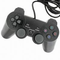 Wired Black USB Gamepad/Controller for PCs, with Analog/Digital Operating Mode