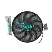 Quality Universal Fit Car Radiator Electric Cooling Fans Brazed Aluminum Core for sale
