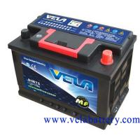 Maintenance Free Car  Battery - DIN75 Manufactures