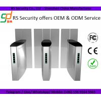Security Pedestriam Access Control Sliding Barrier Gates With Rfid Card Reader System Manufactures