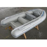 Gray / Red 5 Person Inflatable Boat Semi FRP Boats With YAMAHA Motor Manufactures