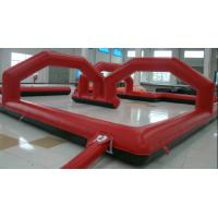 Commercial Grade 0.55mm PVC Tarpaulin Inflatable Sports Games For Amusement Park Manufactures
