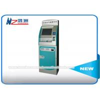 17 Inch Free Standing Hospital Check In Kiosk With Multi Touch Screen And Printer Manufactures