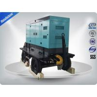 80kw 100kva Silent Type Trailer Mounted Generator With Cummins / Perkins Diesel Engine Manufactures