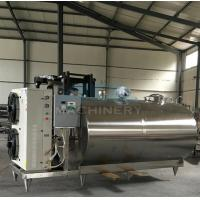 Professional Small Scale Milk Processing Machine Equipment For Sale Stainless Steel Milk Cooling Tank/Milk Cooling Tank Manufactures