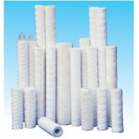Buy cheap Industrial water cartridge string wound water filter cartridge/pp cotton filter from wholesalers