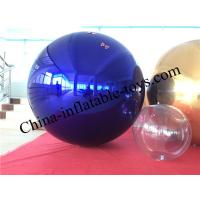 Colorful Giant Inflatable Mirror Ball Advertising Balloons Ornaments Manufactures