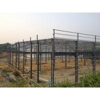 Prefabricated Steel Structure Warehouse , Light Gauge Industrial Steel Structures Manufactures