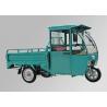 Freight Transport 3 Wheel Electric Cargo Bike 48V 800W Motor Green Steel Body Manufactures
