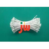 White Color 24 AWG Electrical Wiring Harness , AMP Connectors Cable Wire Harnesses Manufactures