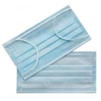 Breathable Disposable Surgical Mask , Waterproof 3 Ply Non Woven Face Mask Manufactures