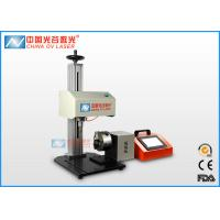 High Speed Pneumatic Dot Peen Marking Machine with Rotary for Round Column Manufactures