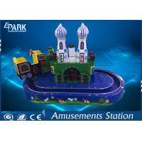 Kids Game Coin Operated Arcade Machines Indoor Entertainment Equipment With Train Ride Manufactures