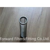 Silk deep processing plant support custom stainless steel filter tube / burner filter cartridge / exhaust filter Manufactures