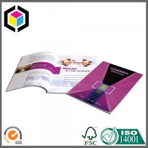 Matte Custom Color Surface Full CMYK Brochure Print; Brochure Printing Service Manufactures