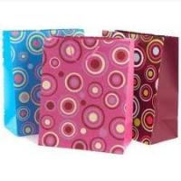 Screen Silk Printing Recycled Paper Custom Printed Gift Bags for Shopping Manufactures