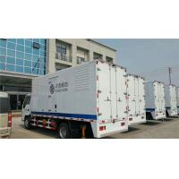 Water Closed Cooling 80KW  Truck Mounted Generator Sets With High Temperature Radiator Manufactures