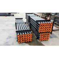 Heavy Duty DTH Drill Pipe For Hard Rock Drilling Equipment Alloy Steel Material Manufactures