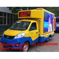 Factory sale best price Foton 4*2 LHD Small Size gasoline Mobile LED Display Truck,mobile LED billboard vehicle Manufactures