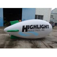 Commercial Helium Advertising Zeppelin Airship Inflatable Ground Balloons Manufactures