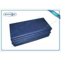 Anti - Bacterial Medical Non Woven Fabric Disposable Bed Sheet Roll Manufactures