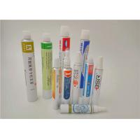 Colorful Packaging Aluminum Collapsible Tubes for Hand Cream / BB Cream / Toothpaste Manufactures
