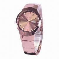 Buy cheap Fashionable Metal Watch with Tungsten Steel Material from wholesalers