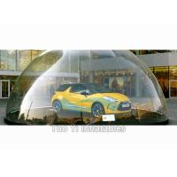 Quality Popular Inflatable Bubble Tent / Car Capsule / Hail Proof Car Cover SGS for sale