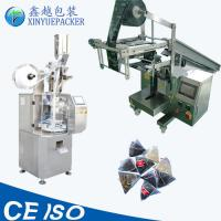 Measuring Cup Filling Tea Bag Packing Machine Inner / Outer Bag Making Manufactures