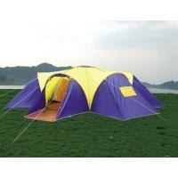 Quality Glass fibre + Oxford Cloth Inflatable Party Wild Camping Tent 4 * 6 * 1.36m for sale