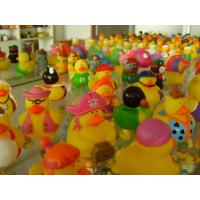 Quality Bath Floating Mini Rubber Ducks Harmless Holiday Design For Children Gifts for sale