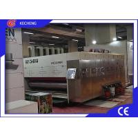 Corrugated Carton Printing Machine Flexo Die Cutting Auto Roller Transfer Manufactures