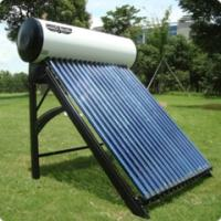 China Pressurized copper coil domestic used solar water heater on sale