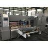 Automatic Flat Bed Die Cutting Machine Lead Edge Feeding Corrugated Carton Box Machine Manufactures