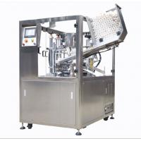 Fully Automatic Plastic Tube Sealing Machine 25 - 30 Pcs / Min For Beverage Manufactures