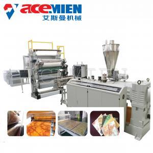 PVC Marble Making Machine , Artificial Stone Making Machine Profile Sheet Manufactures