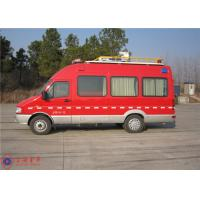 Quality Seven Seats Fire Command Vehicles Rear Overhang 1680mm With Mounted Electric for sale