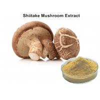 30% Lentinan Shiitake Mushroom Polysaccharides Extract Brown Yellow Powder Anti - Virus Manufactures