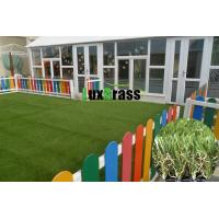 Smooth Synthetic Grass For Kindergarten Natural Appearance Child Play Ground Artificial Garss Manufactures