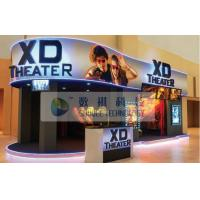 7D 8D 9D Motion Simulators XD Theatres with PU leather / real leather Motion chairs Manufactures