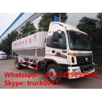 2018s total new FOTON Aumark 12m3 electronic discharging feed truck for sale,