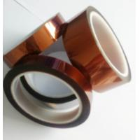 Amber Color Kapton Polyimide Tape Class H Insulation Feature For Electrical Coils Manufactures